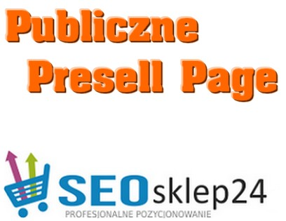 publiczne presell page